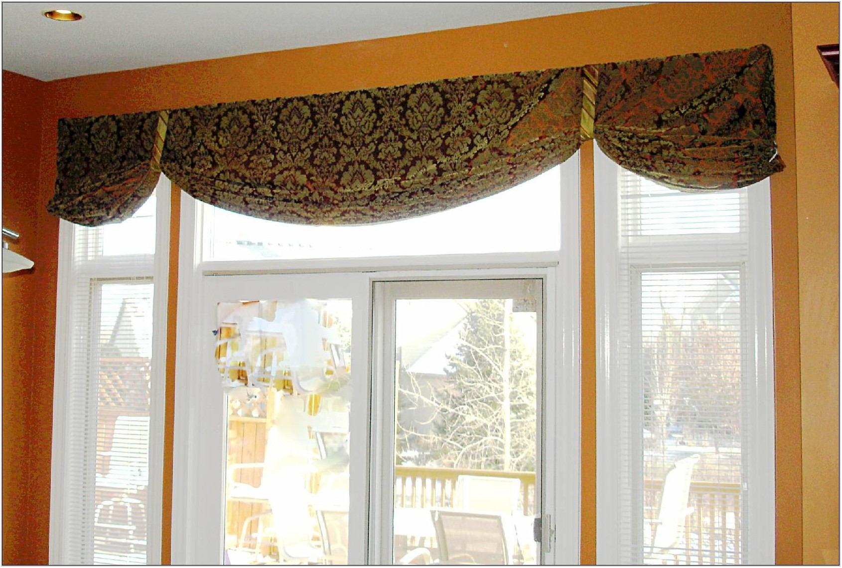 Window Valance Ideas Living Room