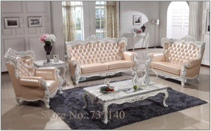 Wood And Leather Living Room Furniture