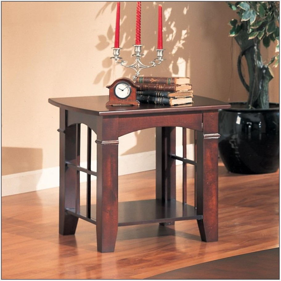 Wood Living Room End Tables