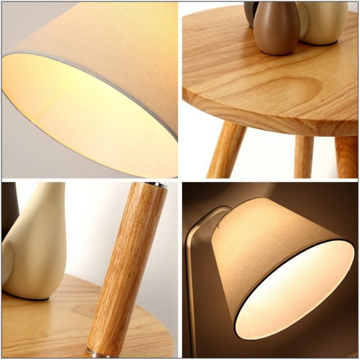 Wooden Floor Lamps For Living Room