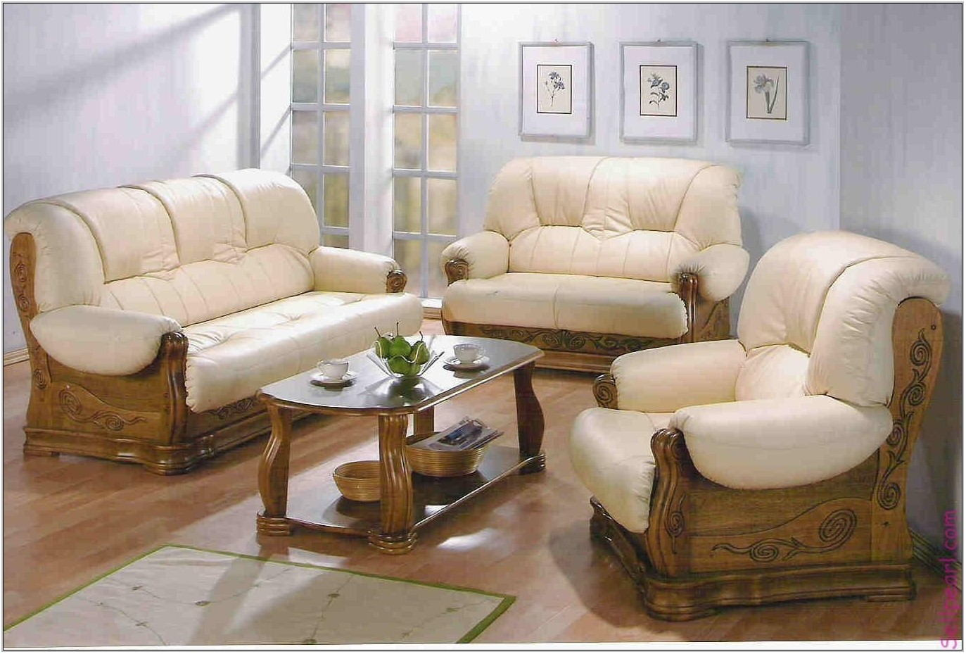 Wooden Sofa Set Designs For Living Room