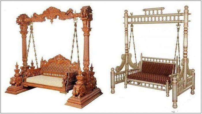 Wooden Swing For Living Room Online