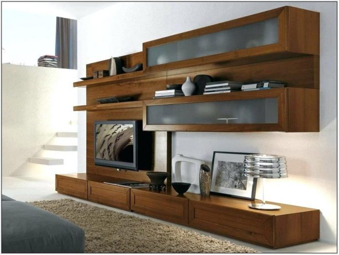 Wooden Wall Units For Living Room