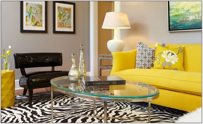 Yellow Carpet Living Room