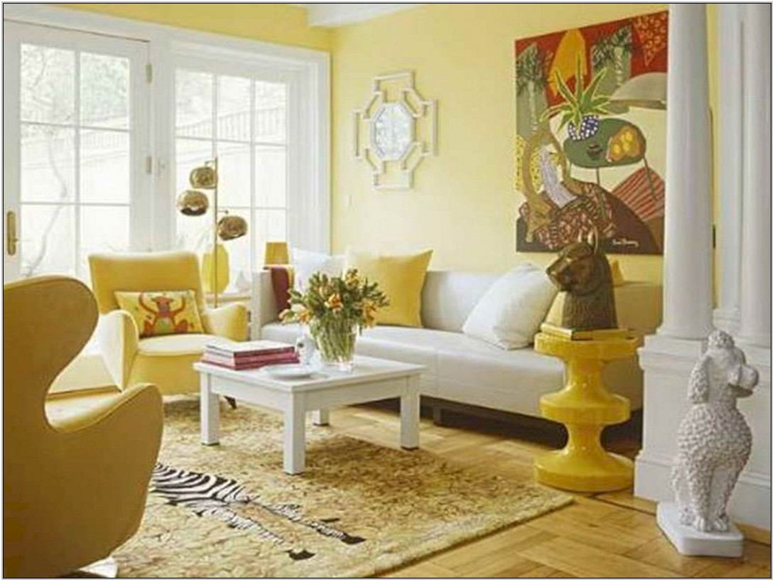 Yellow Color Schemes For Living Room