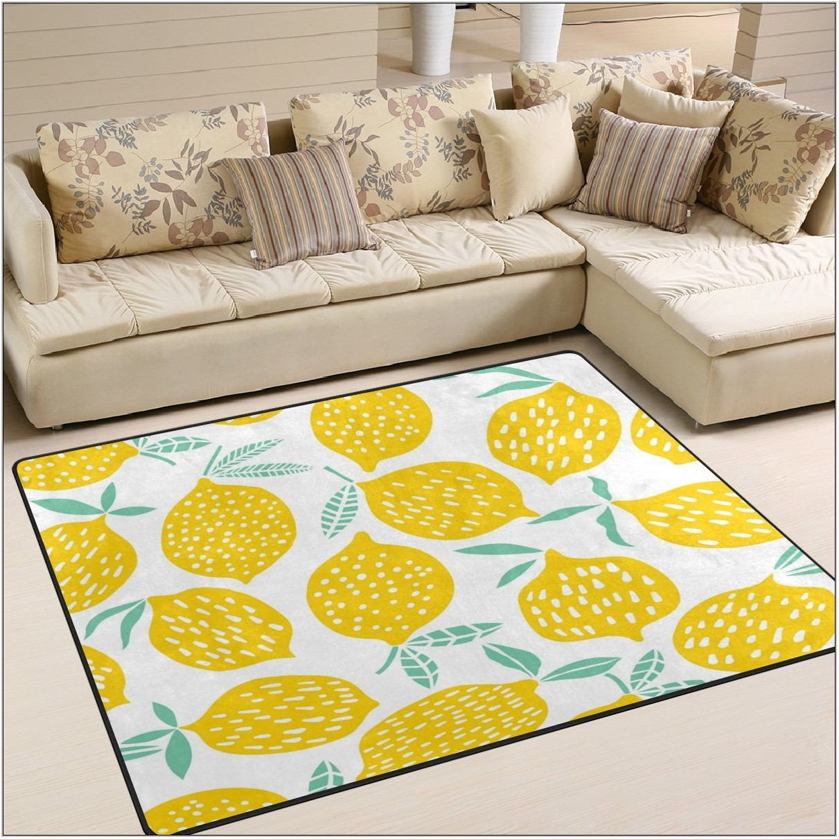Yellow Rugs For Living Room