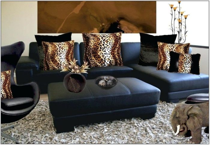 Zebra Print Decor For Living Room