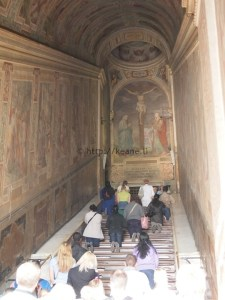 Scala Sancta (Holy Stairs) in Rome