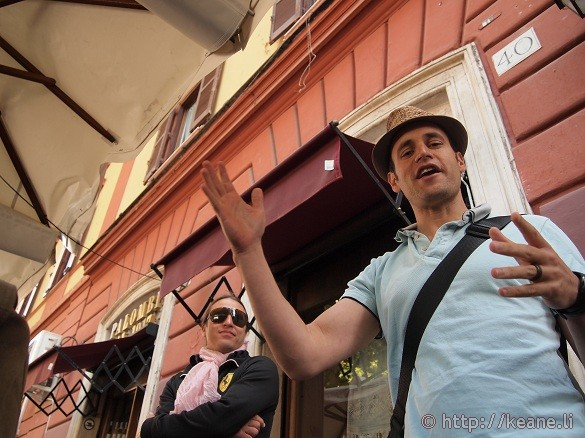 Eating Italy Food Tours - Kenny and Domenico