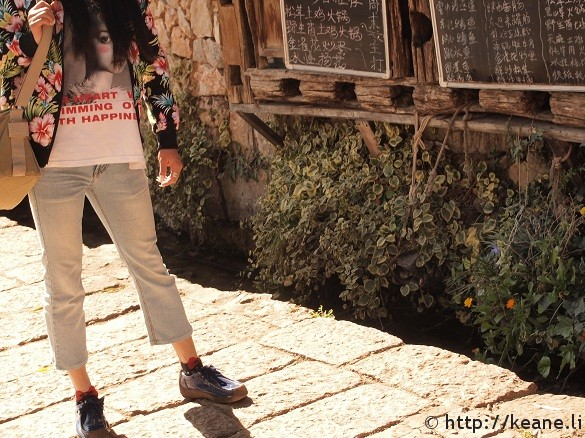 Fashion in Lijiang Old Town