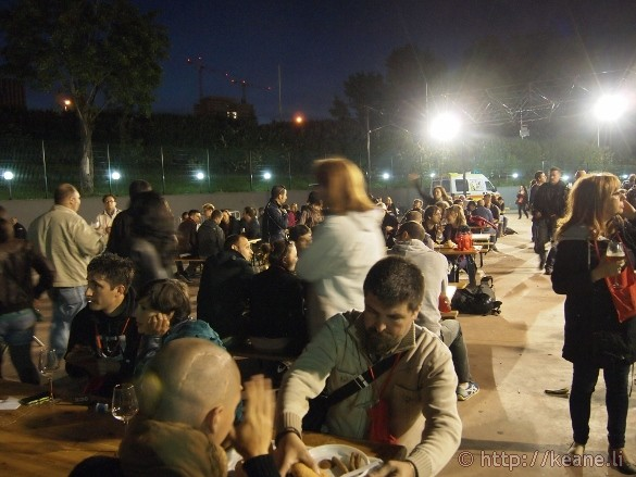 Italia Beer Festival - Night Outside