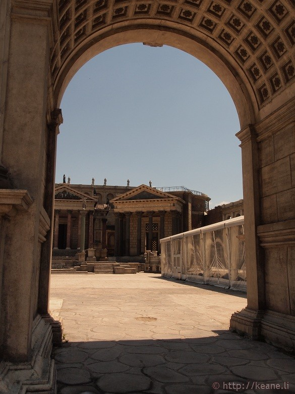 Cinecittà - Multi-million dollar set for HBO's 'Rome'