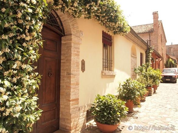 Streets of Santarcangelo di Romagna