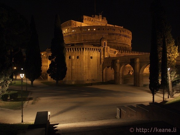 Summer Nights in Rome - The Castel Sant'Angelo