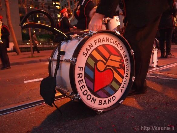 San Francisco Lesbian/Gay Freedom Band logo