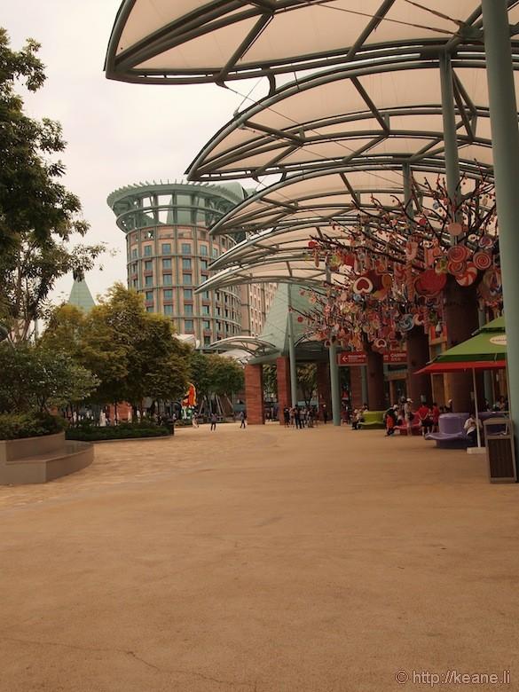 Sentosa Island in Singapore - Outdoor shopping
