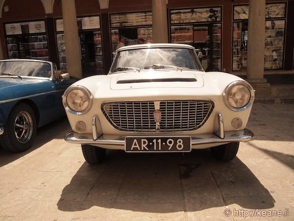 Vintage Fiat Classic Car in San Marino