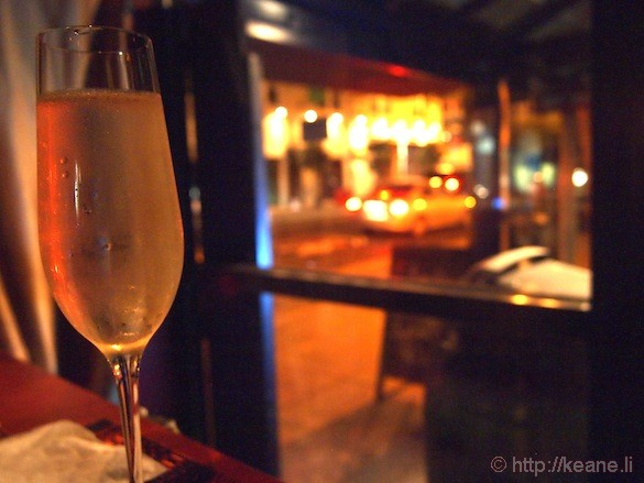Grand Opening of Muka in San Francisco - Champagne Flute