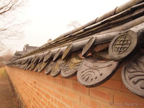 Palace Wall in Gyeongbokgung Palace
