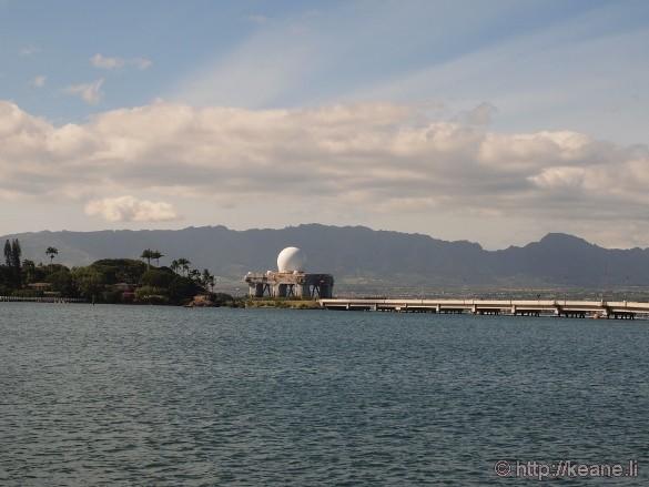 Sea-based X-band Radar in Pearl Harbor
