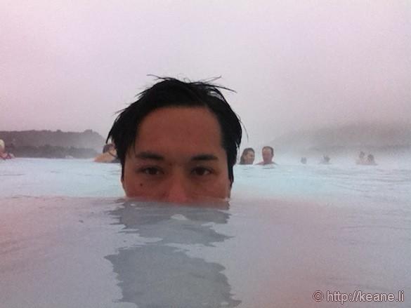 Blue Lagoon Selfie