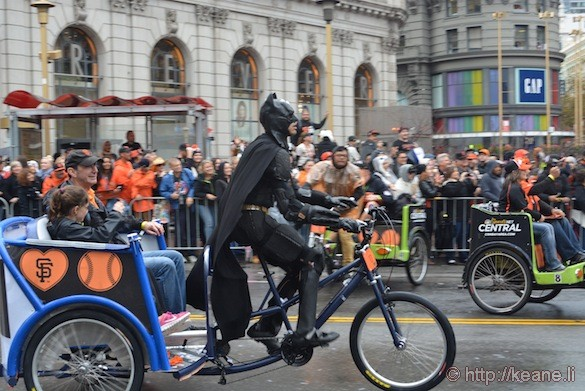 SF Giants World Series 2014 Parade - Batman