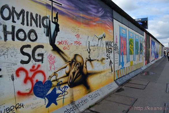 Berlin Wall Memorial Graffiti