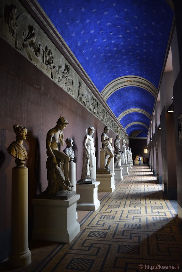 Hallway and Statues in Thorvaldsens Museum