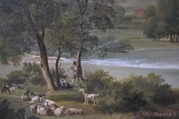 Painting in Thorvaldsens Museum