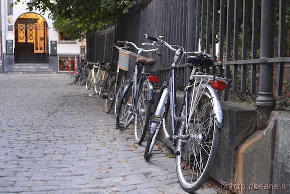 Bicycles in Copenhagen