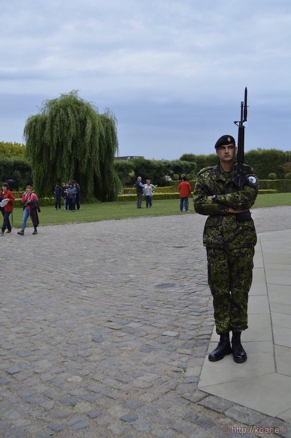 Soldier at Denmark Rosenborg Castle
