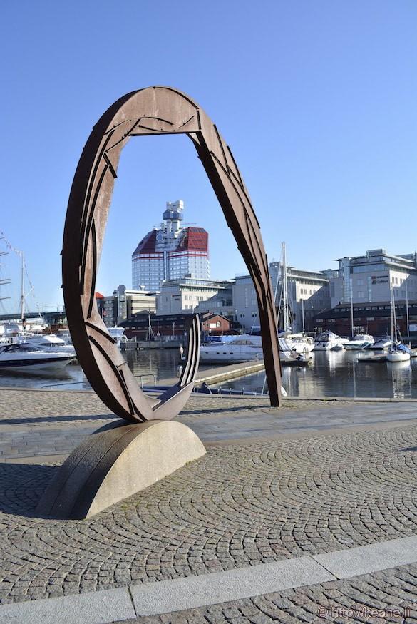 Sculpture by Göteborg Opera in Gothenburg