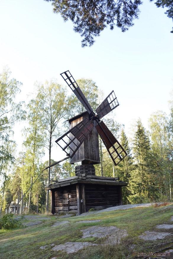 Windmill at the Seurasaari Open-Air Museum in Helsinki