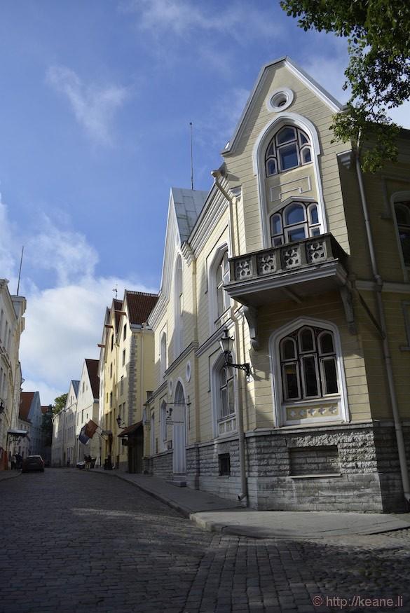 Colorful Tallinn Buildings