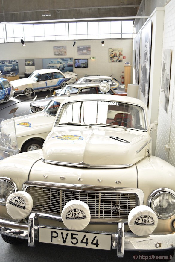 Volvo Museum in Gothenburg
