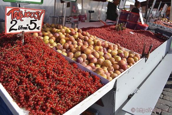 Fruits at Market Square in Helsinki