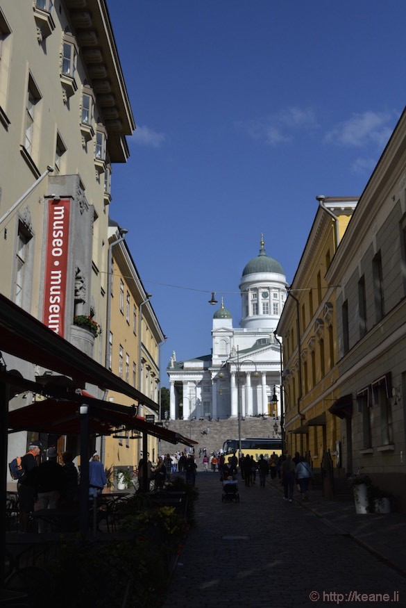 Walkway to Helsinki Cathedral
