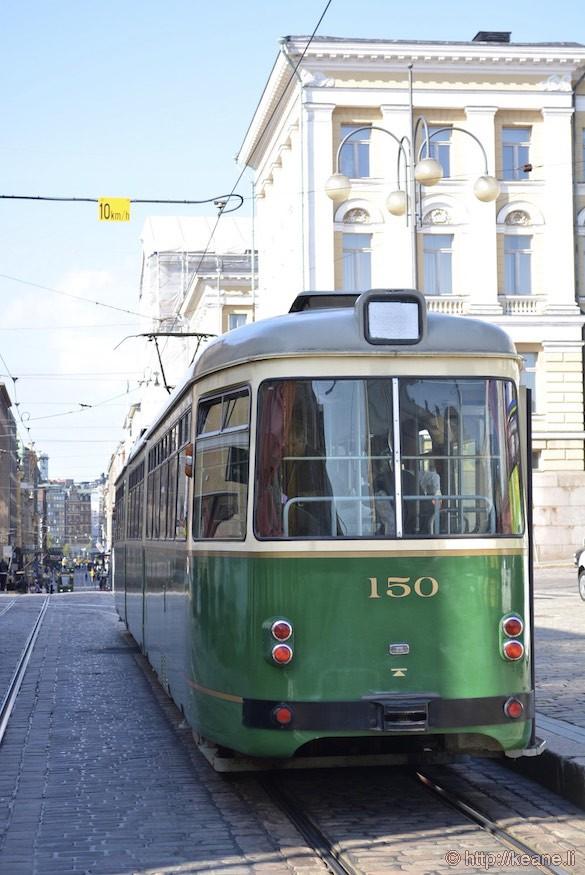 Streetcar in Helsinki