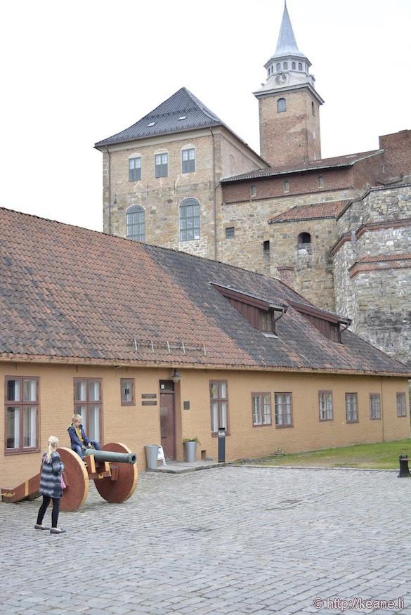 Artillery at Akershus Fortress