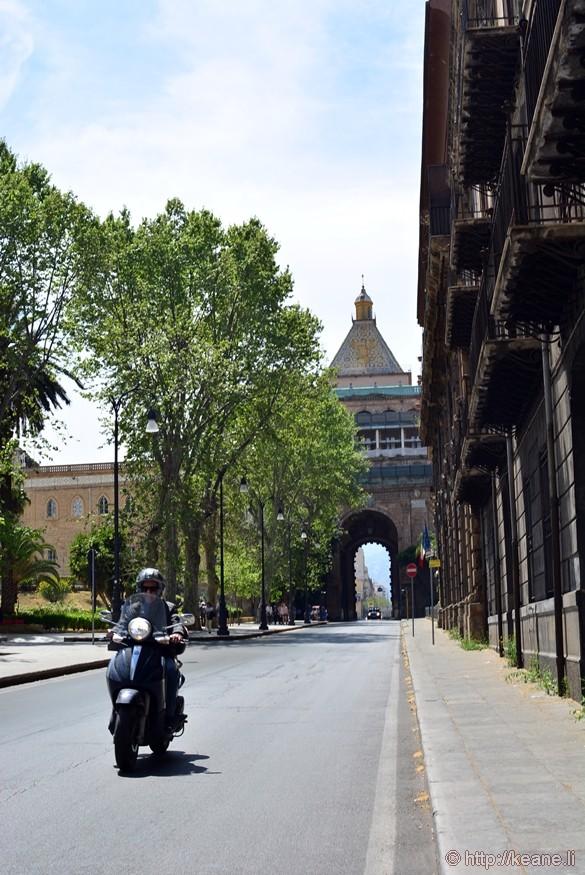 Porta Nuova in Palermo