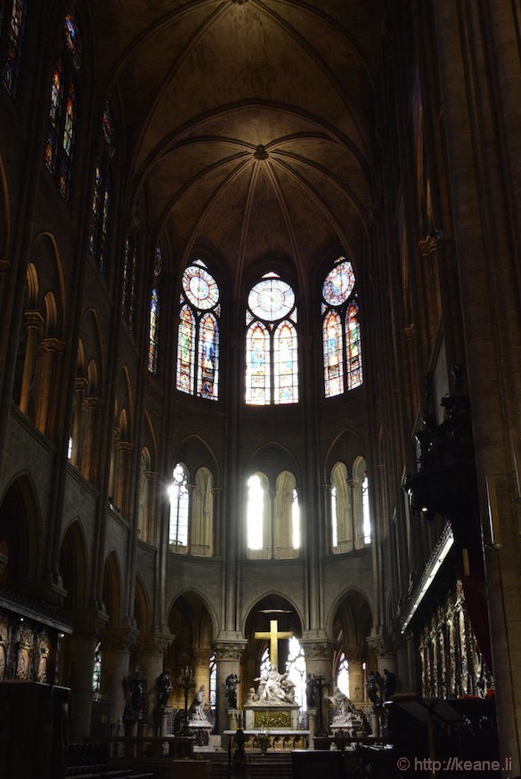 Notre Dame Cathedral - Interior