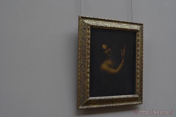 Louvre Museum - Da Vinci's Saint Jean-Baptiste