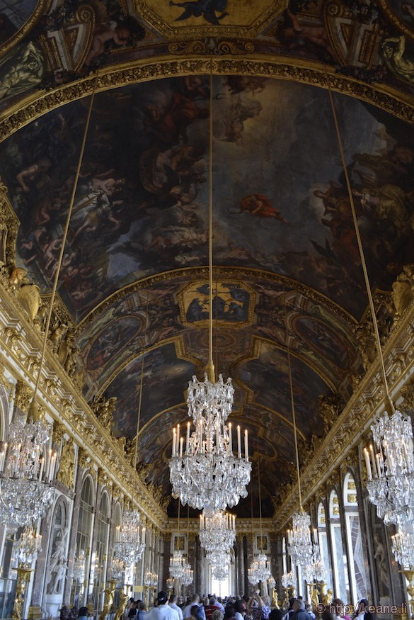 Palace of Versailles - Hall of Mirrors
