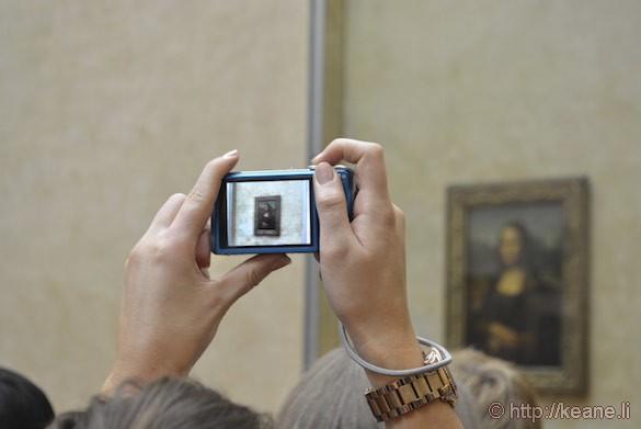 Louvre Museum - Da Vinci's Mona Lisa