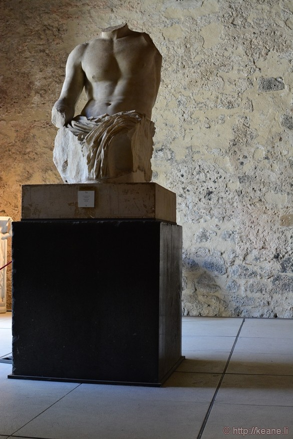 Statue in the Museo Civico in Castello Ursino