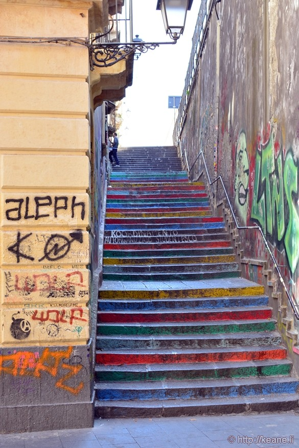 Colorful Steps in Catania