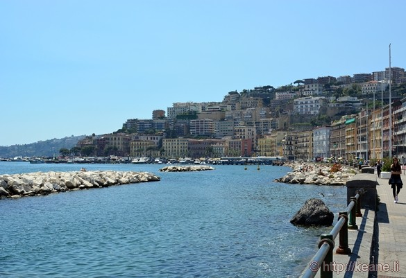 View from the Naples Waterfront