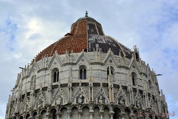 Roof of the Battistero di San Giovanni Battista