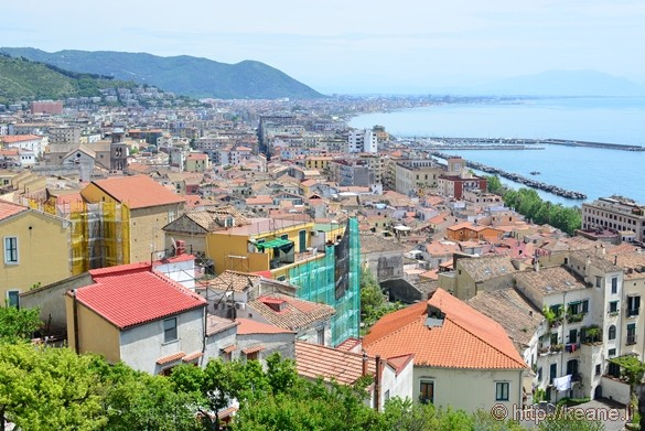 View of Salerno from the Giardino della Minerva