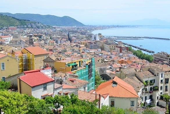 View of Salerno from the Giardino della Minerva